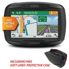 Garmin Zumo 395LM UK & Europe Motorcycle GPS Sat Nav With Lifetime Map Updates
