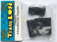 """Team Losi 1/10 XX4 Rear Pivot Block Set, 3 Degree """"NEW"""" LOSA2213"""