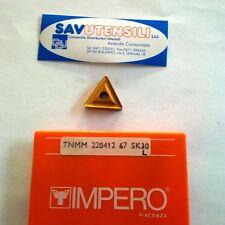 Inserti per tornitura IMPERO TNMM 220412-67L SK30 (conf. 5 pezzi)