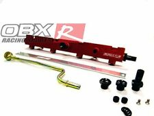 OBX Red Anodized Fuel Rail Fits 02-06 Acura RSX K20A3
