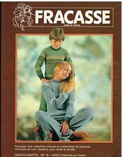 Publicité Advertising 1980 Les Pyjamas Fracasse