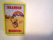 BRANSON MISSOURI PLAYING CARDS SEALED Waltzing Waters,hillbilly playing guitar