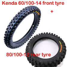 KENDA Offroad Mini Motocross Front & Rear Tire Set 2.50-14 60/100-14 & 80/100-12