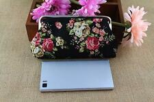 Women Lady Retro Vintage Flower Small Wallet Hasp Coin Purse Clutch Handbag A