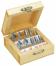 Proxxon 10 Piece Miniature Wood Router Bit Set 29020