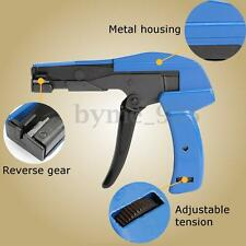 Auto Tensioning Plastic Nylon Zip Cable Tie Gun Cutting Tension Fastener Tool