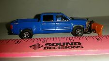 1/64 CUSTOM 2014 chevrolet chevy 1500 truck orange SNOW BLADE plow ERTL farm toy