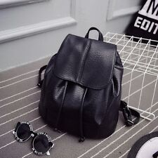 New Girl Leather School Bag Travel Cute Backpack Satchel Women Shoulder Rucksack