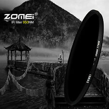 ZOMEI 30mm IR INFRARED FILTER 950nm 95IR for Sony Canon Nikon Pentax Hoya lens