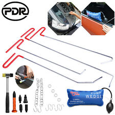 PDR Tools Spring Steel Push Rods Set Pump Tap Paintless Dent Repair Hail Removal