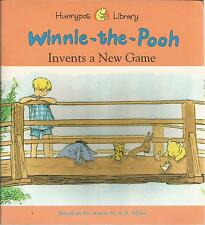 Winnie-the-Pooh Invents a New Game Based on A A Milne PB 1998 Honeypot Library
