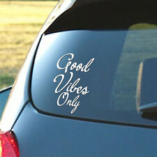 Good Vibes Only Vinyl Decal car truck sticker bumper funny EDM dance music edc