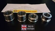 2006 on Triumph Daytona 675 675R & speed triple  Captive wheel spacers