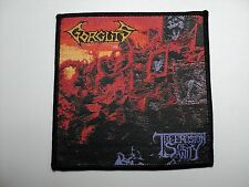 GORGUTS  THE EROSION OF SANITY      WOVEN PATCH