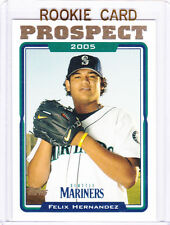 Felix Hernandez PROSPECTS ROOKIE CARD Seattle M's Baseball 2005 Topps UPDATE RC