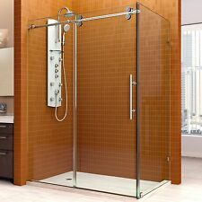 "DREAMLINE 36"" X 60"" ENIGMA-X 3/8"" FRAMELESS SLIDING CORNER SHOWER ENCLOSURE"