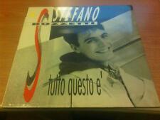LP STEFANO BOZZETTI TUTTO QUESTO E' DDD 74321 10037 1 SIGILLATO ITALY 1992 LSG