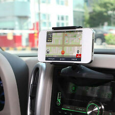Car Auto CD Slot Mount Cradle Holder Stand For Mobile Smart Cell Phone GPS Hold