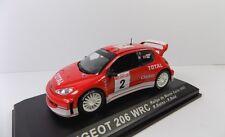 IXO/ALTAYA PEUGEOT 206 WRC RALLYE DE MONTE CARLO 2003 R.BURNS R.REID MINT BOXED