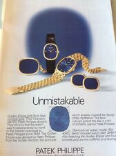 52701 Ephemera 1976 Advert Patek Philippe Unmistakable Watch Watches