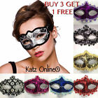 Ladies Girls Sparkling Carnival Masquerade Glitter Venetian Masks Mask Sexy B3