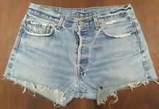 """Awesome Distressed High Waist Levis 501s Cut Offs 33"""""""
