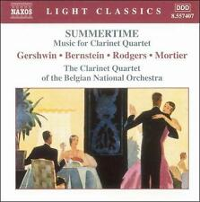 Summertime: Music for Clarinet Quartet, New Music