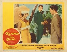 "JOAN COLLINS - STEPHEN BOYD - Orig 11"" x 14"" Lobby Card 'ISLAND IN THE SUN' 1957"