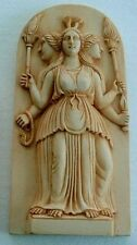 Hecate Hekate Triple Goddess at Crossroads Wiccan Pagan Statue #HEC