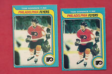 2 X 1979-80 OPC # 51 FLYERS TOM GORENCE  ROOKIE EX-MT CARD