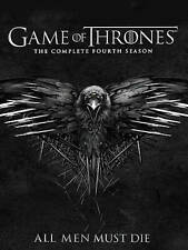 Game of Thrones The Complete Fourth Season DVD, 2015, 5-Disc Set MISSING DISC 5!