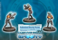 Infinity Corvus Belli Authorized Bounty Hunter Mercenaries blister metal new