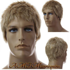 Short male wig cosplay - synthetic men's wig -12 YL