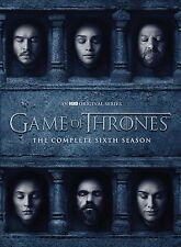 GAME OF THRONES The Complete Season 6 DVD Region 2 Sealed New UK