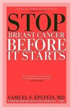 NEW - Stop Breast Cancer Before it Starts by Epstein MD, Samuel S.