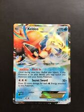 POKEMON KELDEO EX RARE HOLO BW BOUNDARIES CROSSED NEAR MINT 49/149