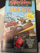 MASK THE THREAT OF VENOM VIDEO VHS RARE ANIMATED CARTOON CULT CLASSIC