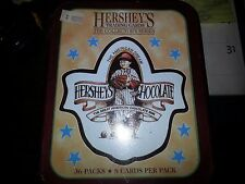 HERSHEY'S TIN 1995 DART FLIPCARDS The Collector's Series