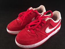 RED NIKE FORCE 1 CHILD/TODDLER SIZE 13c SNEAKERS TENNIS SHOES GENTLY WORN