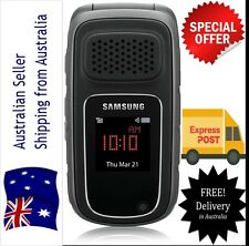 As New Unlocked Samsung RUGBY III 3MP 3G GSM Flip Mobile Phone Tough water proof