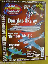 SCALE AVIATION MODELLER SAM MARCH 2001 BEAUFIGHTER MKII DOUGLAS SKYRAY ME 410