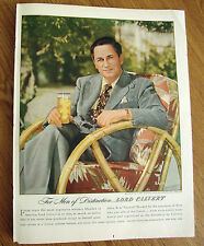 1946 Lord Calvert Whiskey Ad Mervyn Le Roy Motion-Picture Director