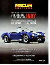 1967 SHELBY 427 COBRA ROADSTER CSX3356 S/C EQUIPMENT ~ GREAT AUCTION AD