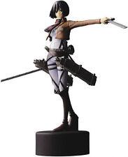 Mikasa Ackerman PVC Christmas Gift cosplay toy Attack on Titan Figures Anime toy