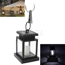 Lanterna LED Energia Solare Candela Lampada Esterna Giardino Spiaggia + Batteria
