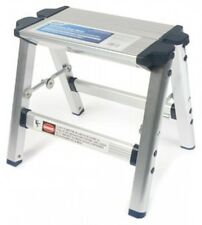 Camco 43672 Folding Metal Step Stool, New, Free Shipping
