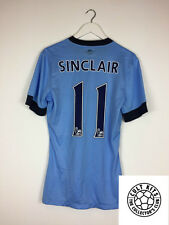 Manchester City Sinclair #11 14/15 * PLAYER ISSUED * Calcio Casa Maglietta Nike (M)