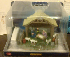 LEMAX CHRISTMAS NATIVITY SCENE APPROX 14CM TALL 34626 NEW BOXED LIGHTED