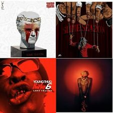 "YOUNG THUG (4) CD- ""SLIME SEASON 1 & 2 + BARTER 6 + LOST"" OFFICIAL MIX CD..2015"