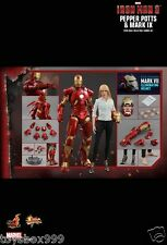 Hot Toys MMS311 Iron Man Pepper Potts MK9 Mark9 Special Edition Set